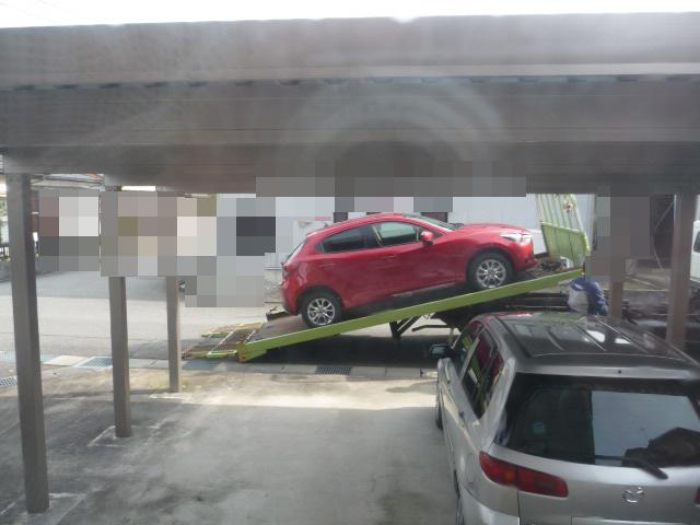 新型デミオ 納車