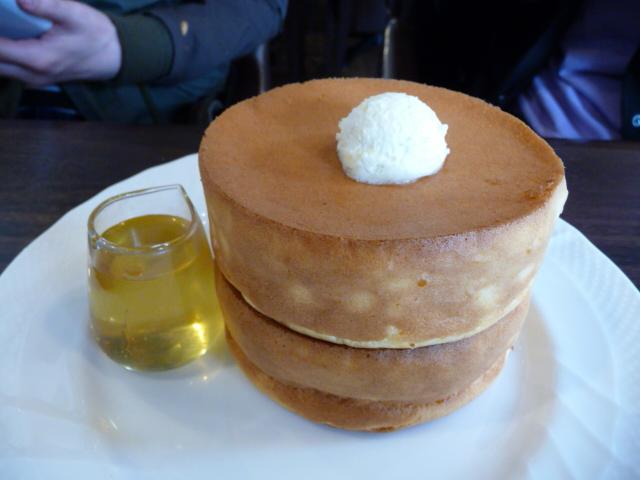 金沢でスフレパンケーキ!