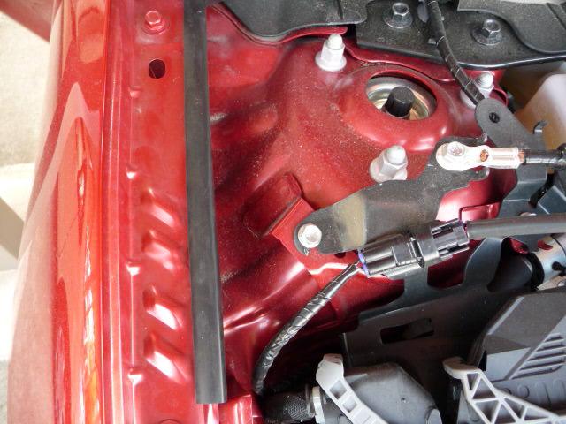 エンジンルームのバリ、カエリ無償修理