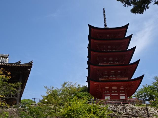 五重塔と豊国神社
