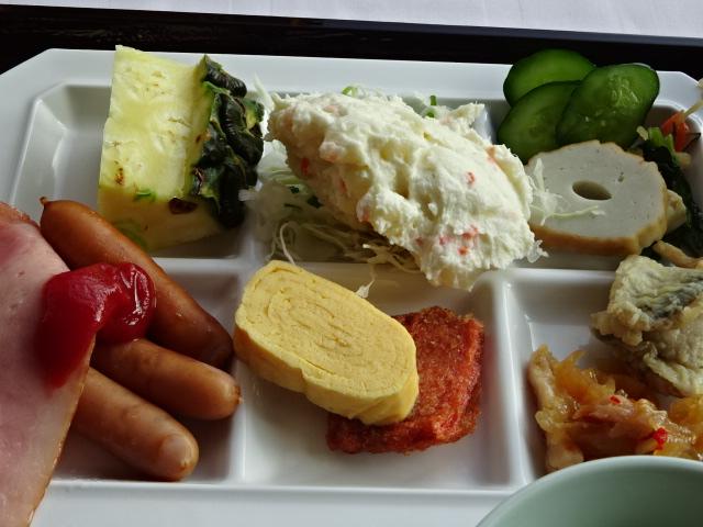 曲水の庭 ホテル玉泉 朝食