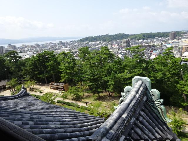 松江城 最上階
