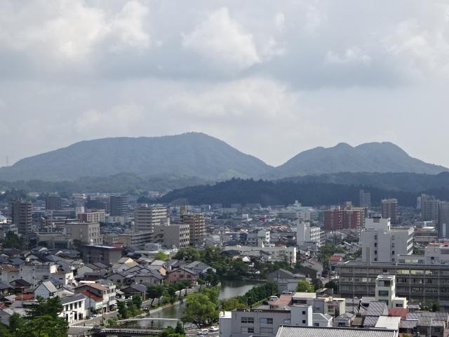 松江城 望楼