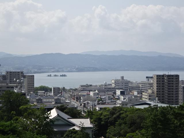 松江 宍道湖 嫁が島